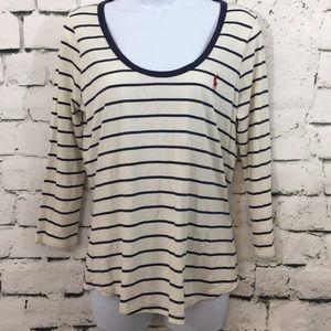NWT Ralph Lauren classic striped top